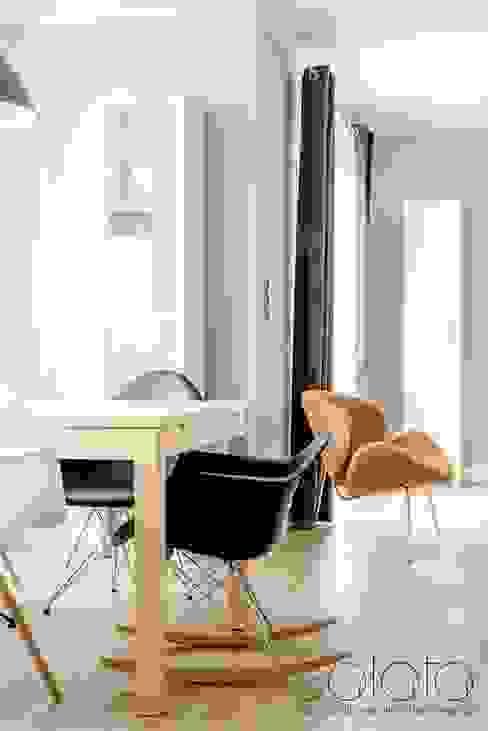 Comedores de estilo  por Sałata-Pracownia Architektury Wnętrz, Escandinavo