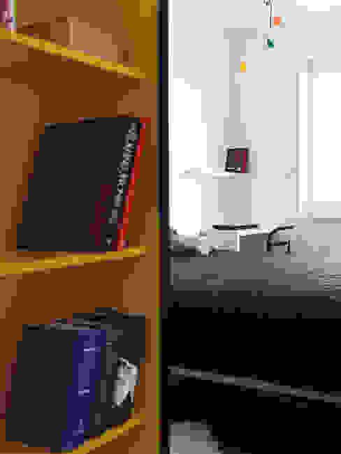 Mieszkanie Bażantowo Minimalistyczna sypialnia od musk collective design Minimalistyczny