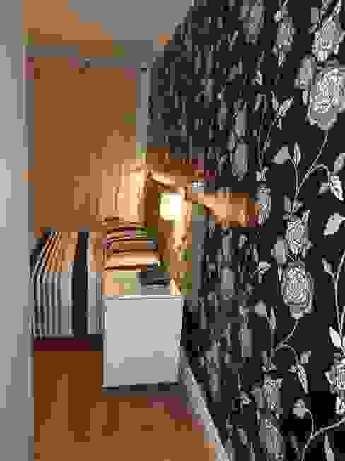 Dormitorios de estilo  por Elaine Medeiros Borges design de interiores,