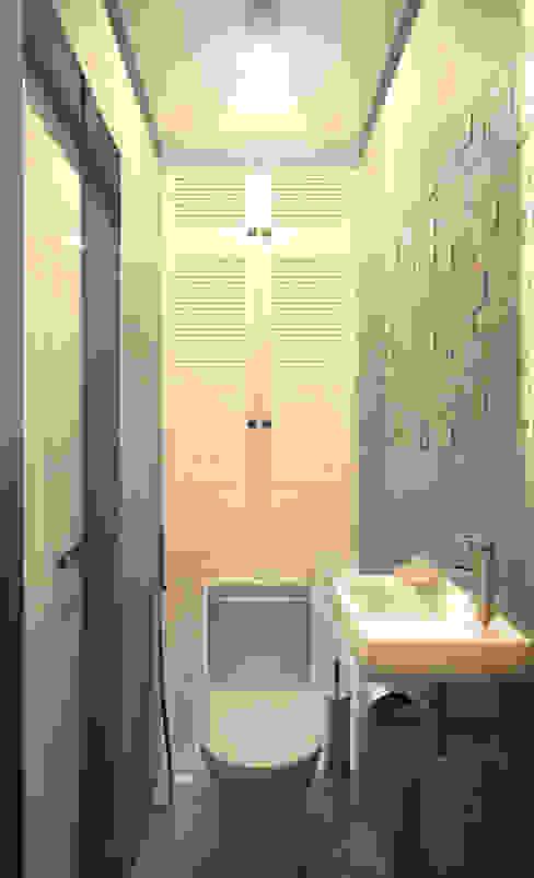 Туалет 2 Ванная комната в скандинавском стиле от Inna Katyrina & 'A-LITTLE-GREEN' studio interiors Скандинавский