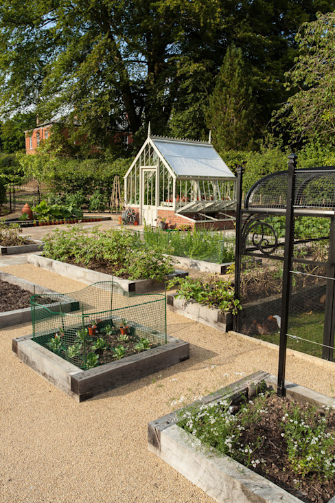 Kitchen Garden, Cheshire par Barnes Walker Ltd