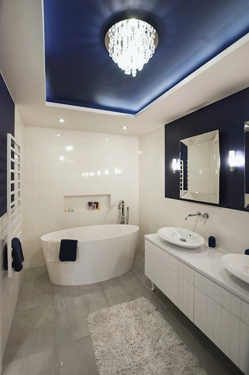 Antracyt Eclectic style bathroom