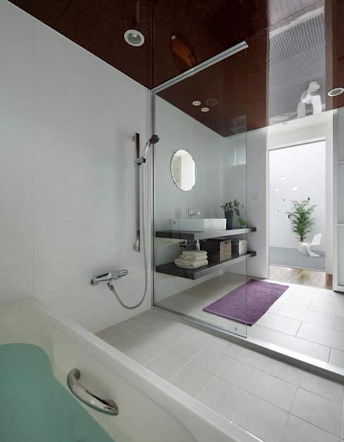 久保田正一建築研究所 Modern Bathroom