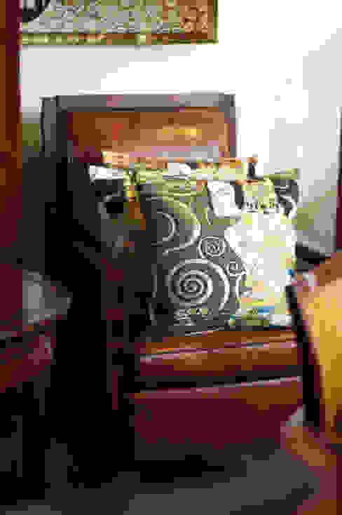Art Deco & Klimt:  Woonkamer door De blauwe Deel Webwinkels,