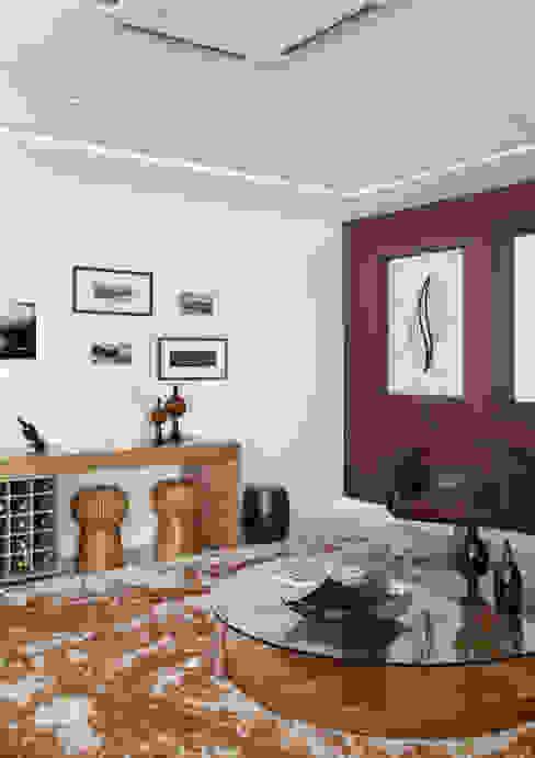 Apartamento na Barra da Tijuca Salas de estar modernas por Ana Adriano Design de Interiores Moderno