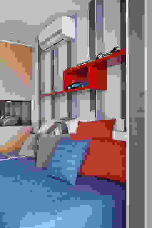 Apartamento na Barra da Tijuca Quarto infantil moderno por Ana Adriano Design de Interiores Moderno