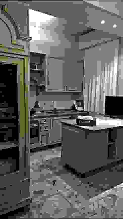 Realizzazioni Cucina moderna di ERIKA CHIARI - DECORAZIONI D'INTERNI Moderno