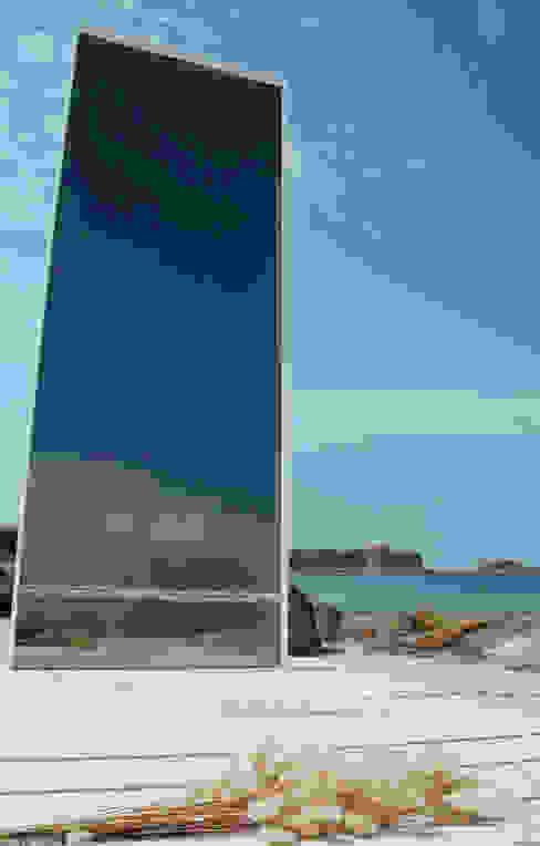 """Espejo """"9 Ondas"""" de JUAN ARES Marine Design Ecléctico"""