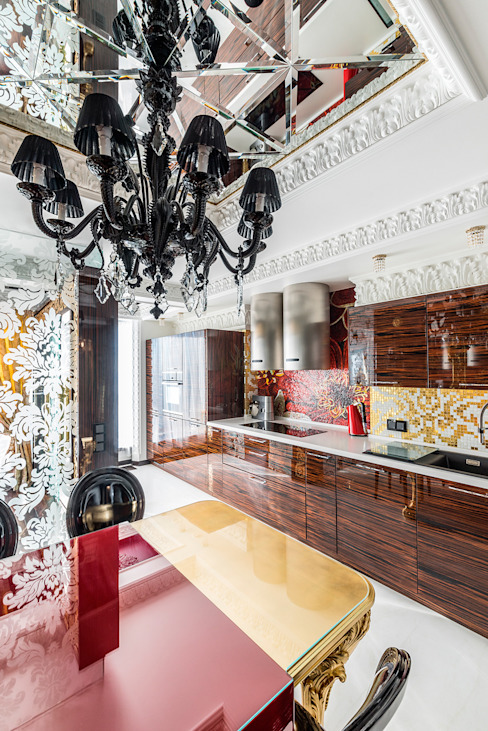 Интерьер квартиры в стиле Эклектики: Кухни в . Автор – Belimov-Gushchin Andrey,