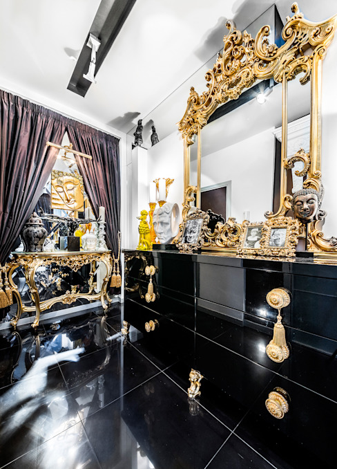 Интерьер квартиры в стиле Фьюжн: Коридор и прихожая в . Автор – Belimov-Gushchin Andrey