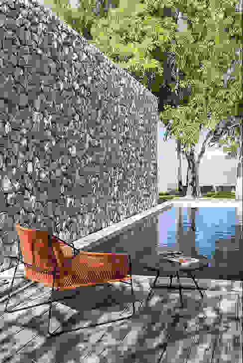 Mobiliario de jardines y exteriores Muebles caparros Piscinas de estilo rural