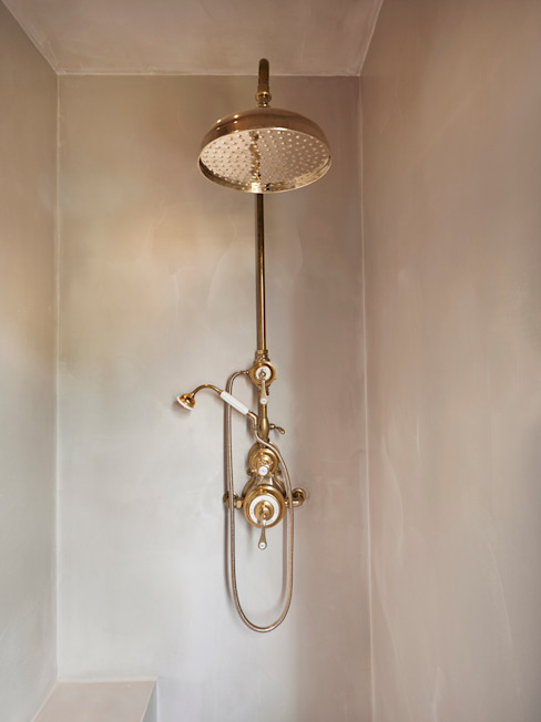 Drummond's Case Study: London Townhouse, Notting Hill par Drummonds Bathrooms Minimaliste