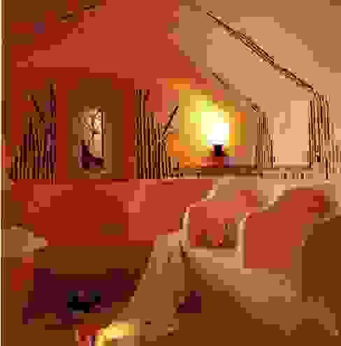LE HAMMAM Salle de bain originale par cecile Aubert architecte dplg Éclectique