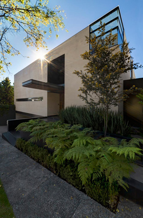 Casas de estilo  por grupoarquitectura, Minimalista