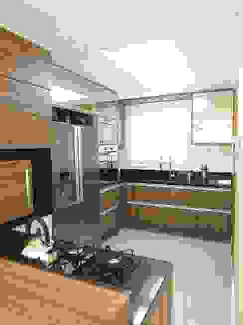 Cozinha americana Cozinhas modernas por Paula Szabo Arquitetura Moderno