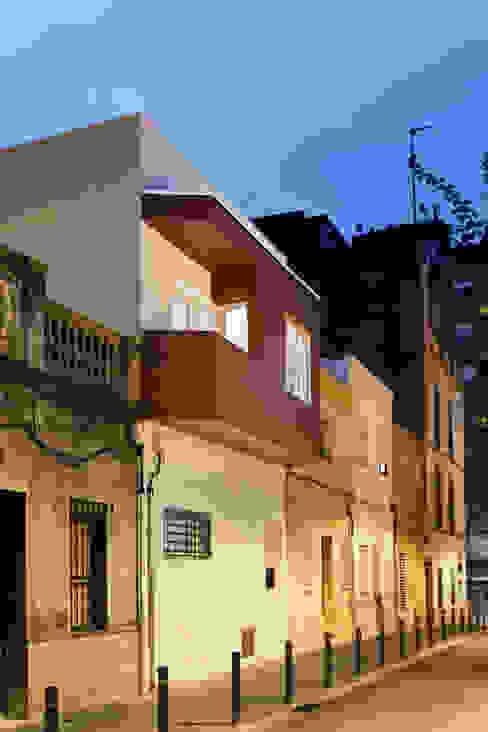 Mediterrane Häuser von GPA Gestión de Proyectos Arquitectónicos ]gpa[® Mediterran