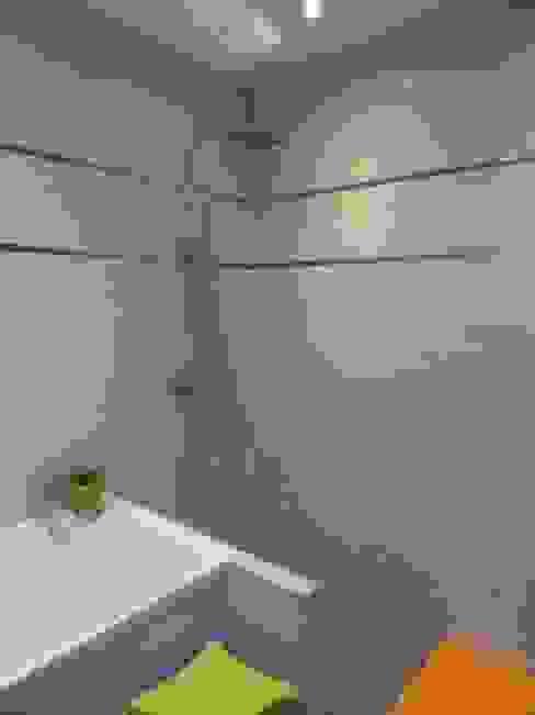 Perspective Salle de bain moderne par atelier 742 Moderne