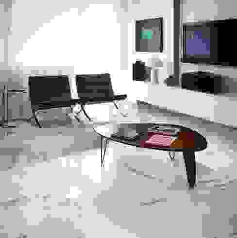 Mermer Görününümlü İtalyan Seramik Modern Oturma Odası Plaza Yapı Malzemeleri Modern