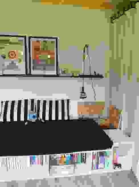 pokój M: styl , w kategorii Sypialnia zaprojektowany przez NaNovo ,Industrialny