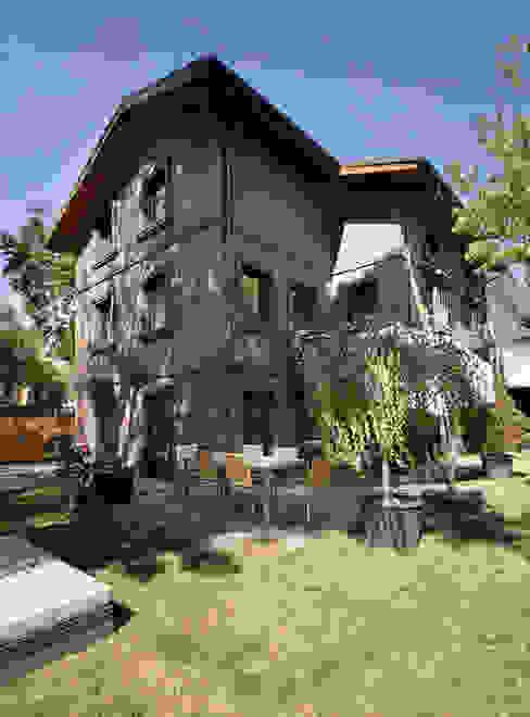 Levent Villa Endüstriyel Bahçe Udesign Architecture Endüstriyel