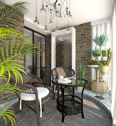 Conservatory by Aledoconcept, Eclectic