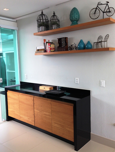 Casa 1 Cozinhas modernas por ESTÚDIO danielcruz Moderno