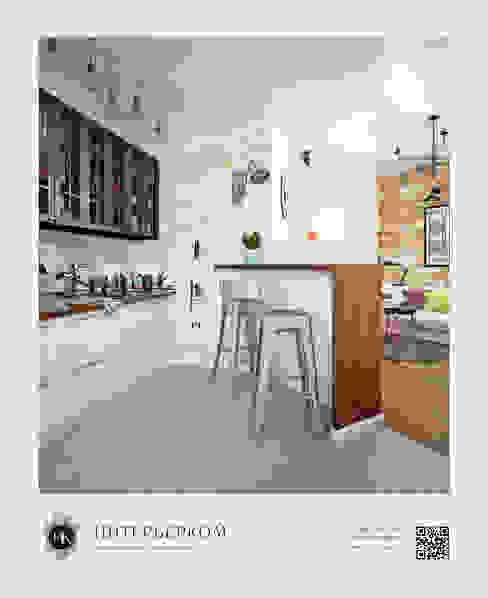 Cocinas de estilo industrial de ИнтерьерКом / InteriorCom Industrial
