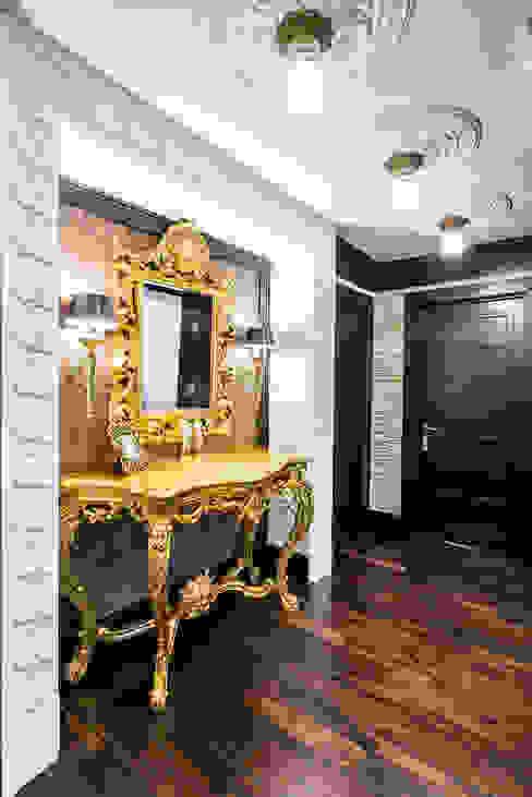 Интерьер загородного дома в стиле Эклектика Коридор, прихожая и лестница в эклектичном стиле от Belimov-Gushchin Andrey Эклектичный