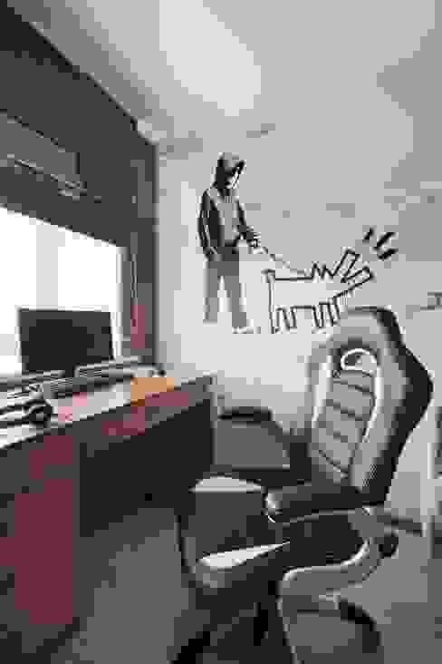 Комната сына Детская комната в стиле модерн от Студия дизайна интерьера 'Градиз' Модерн