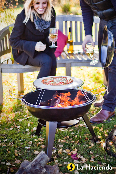 Pizza firepit La Hacienda Garden Fire pits & barbecues