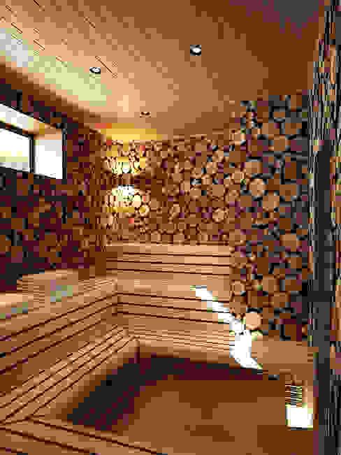 Spa de estilo  por Валерия Лазарева - архитектор, дизайнер интерьера, Minimalista