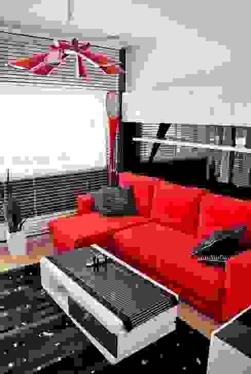 Modern living room by Abakon sp. z o.o. spółka komandytowa Modern
