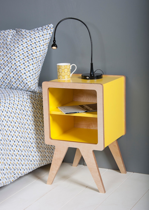 Space bedside table od Obi Furniture Nowoczesny