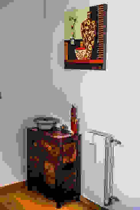 AI2 Home Ingresso, Corridoio & Scale in stile asiatico di Luca Bucciantini Architettura d' interni Asiatico
