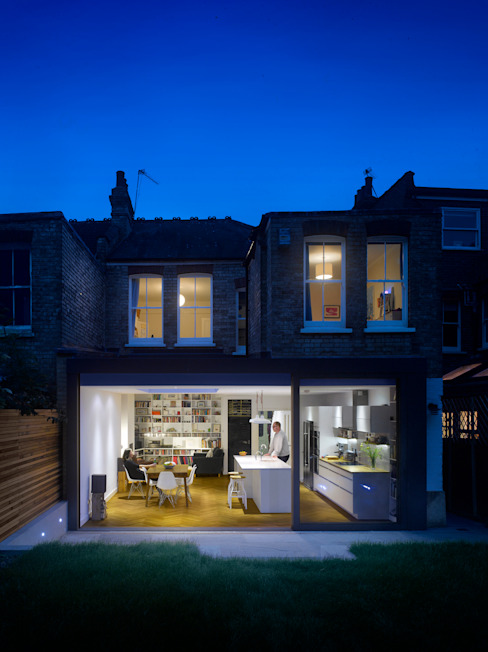 Redston Road Modern houses by Andrew Mulroy Architects Modern
