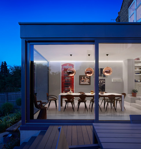 Creighton Avenue Modern houses by Andrew Mulroy Architects Modern