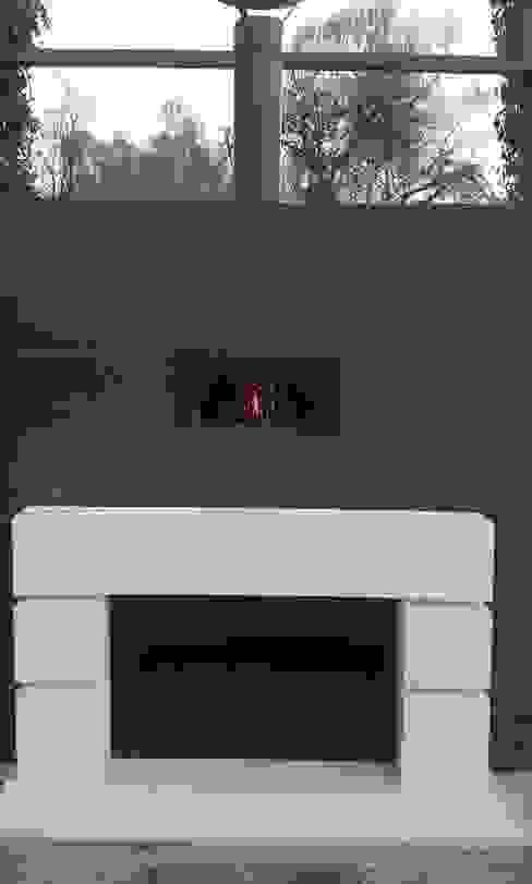 wood-fired/gas oven Modern garden by wood-fired oven Modern