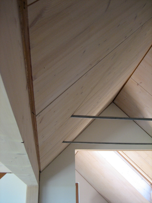 Corredores, halls e escadas modernos por WERKHAUS Architekten Ingenieure Moderno