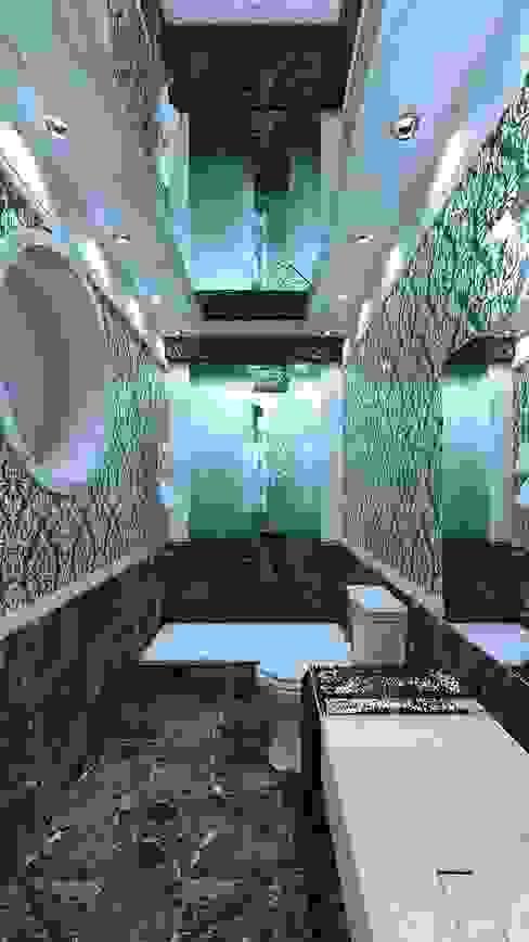 Nowoczesna łazienka od Nada-Design Студия дизайна. Nowoczesny