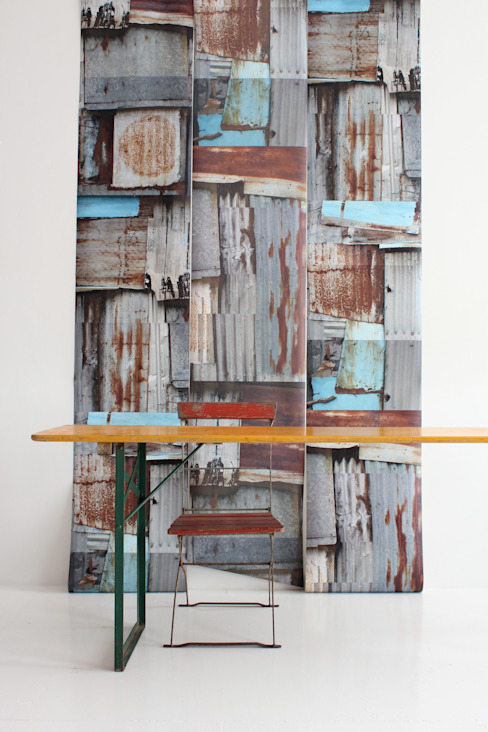 industrial  by WALLPAPER by deborah bowness, Industrial