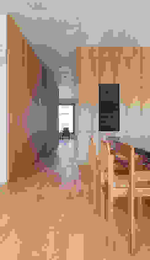Ersatzneubau MFH Kleiber, Basel Moderne Wohnzimmer von Oliver Brandenberger Architekten BSA SIA Modern