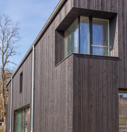 Eckfenster: modern  von Haus Wieckin,Modern