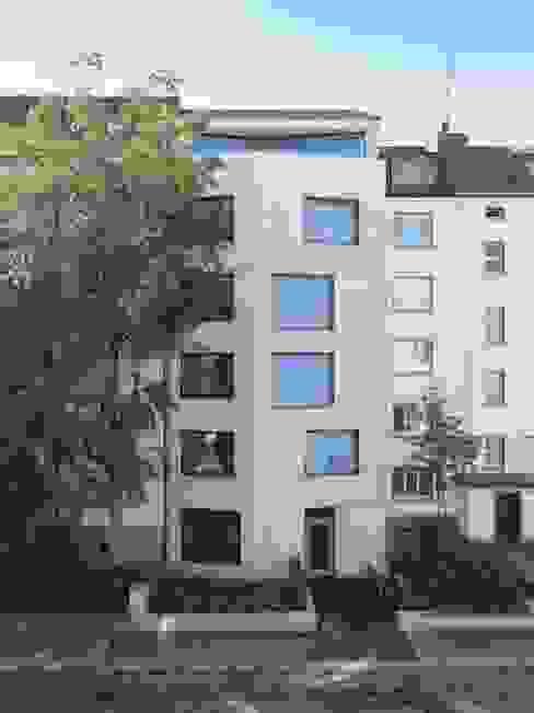 Ersatzneubau MFH Kleiber, Basel Moderne Häuser von Oliver Brandenberger Architekten BSA SIA Modern