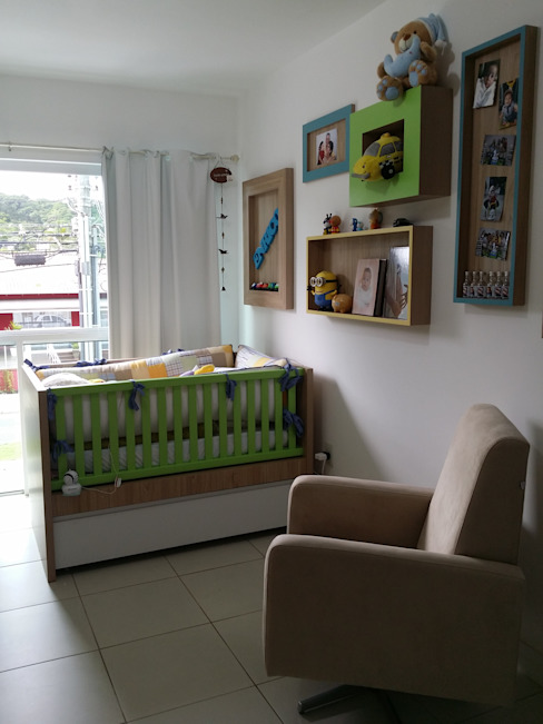 Habitaciones para niños de estilo moderno de Kali Arquitetura Moderno