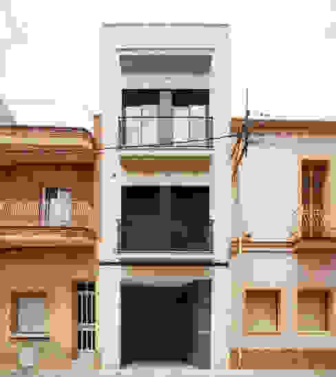 Casa CC Casas de estilo minimalista de costa+dos Minimalista