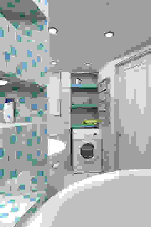 Modern style bathrooms by Студия дизайна и декора Светланы Фрунзе Modern