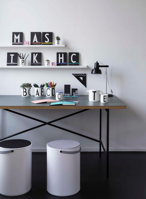 Design Letters Scandinavian style study/office by Design Letters Scandinavian