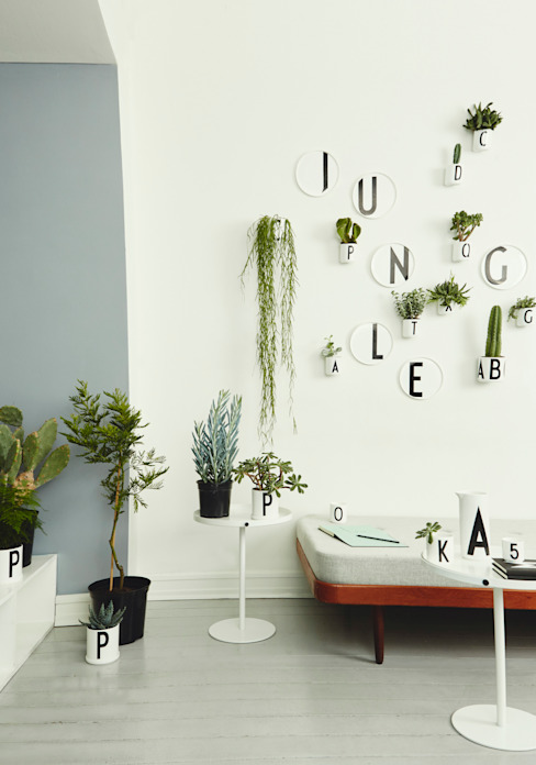 Design Letters Scandinavian style living room by Design Letters Scandinavian