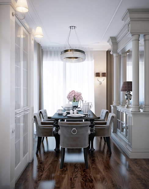 Classic style dining room by EJ Studio Classic