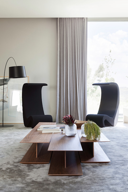 Casa em Itu Salas de estar minimalistas por Consuelo Jorge Arquitetos Minimalista